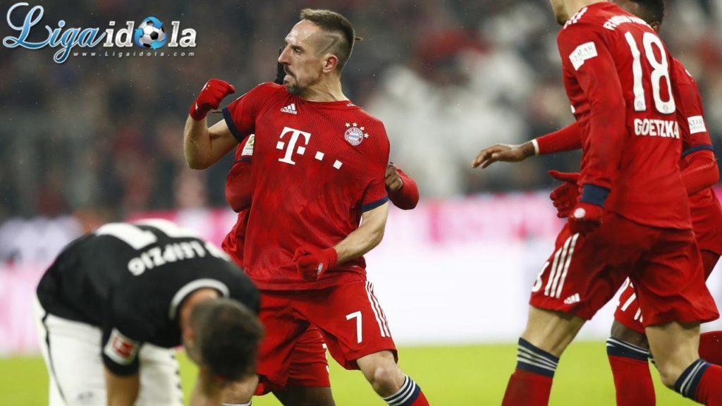 Pada Bursa Transfer 2009 Ribery Adalah Pemain Terlaris Selain Ronaldo
