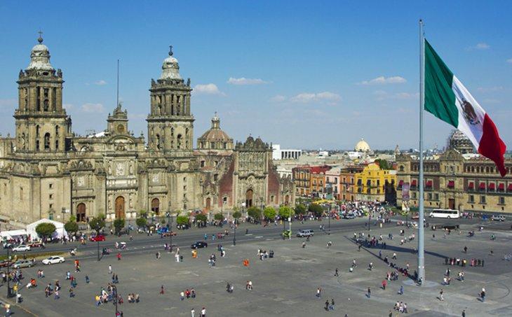 Mexico City, Kota Diatas Lima Danau