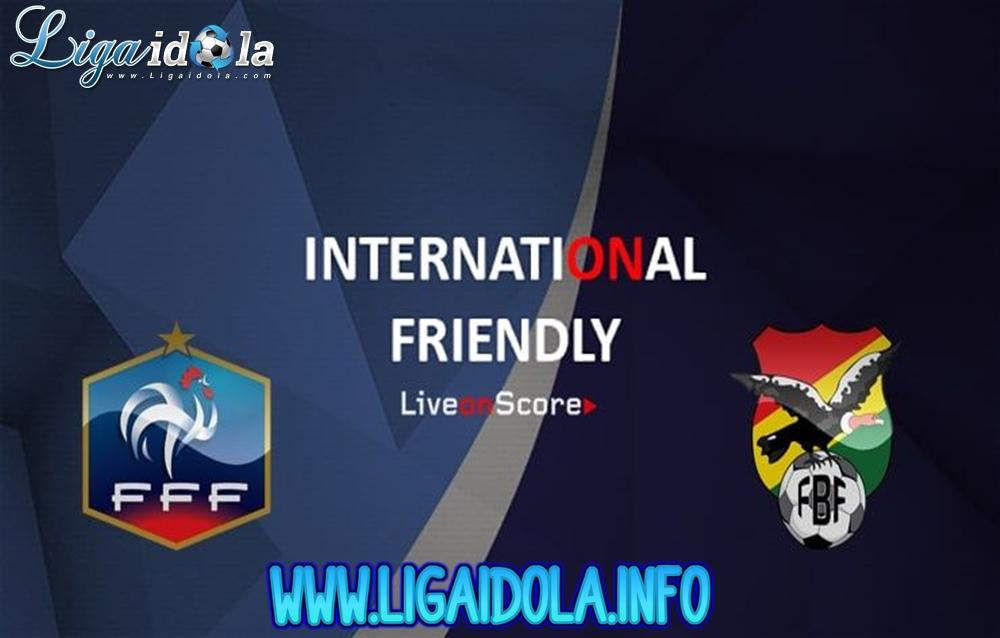 Prediksi Bola France Vs Bolivia 03 Juni 2019
