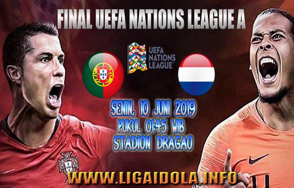 Prediksi Score Portugal vs Belanda 10 Juni 2019