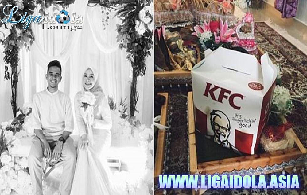 Ayam Goreng KFC Sebagai Seserahan Saat Lamaran