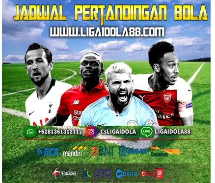 Jadwal Pertandingan Bola 27-28 Maret 2020