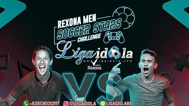 Live Streaming Rexona Men Stars Challenge 22 Mei 2020
