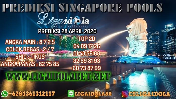 PREDIKSI SINGAPORE POOLS 28 APRIL 2020