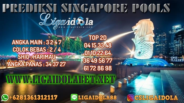 PREDIKSI SINGAPORE POOLS 24 APRIL 2020