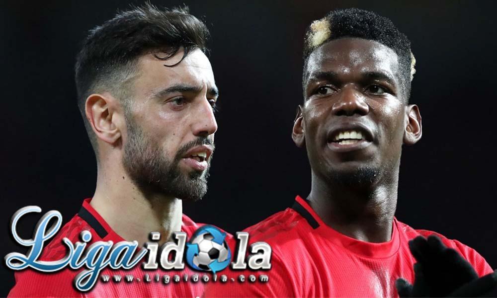 Bersama Paul Pogba dan Bruno Fernandes