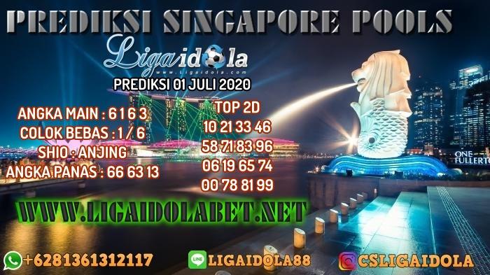 PREDIKSI SINGAPORE POOLS 01 JULI 2020