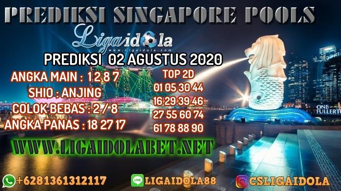 PREDIKSI SINGAPORE POOLS 02 AGUSTUS 2020