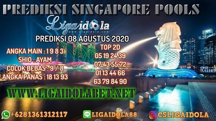 PREDIKSI SINGAPORE POOLS 08 AGUSTUS 2020