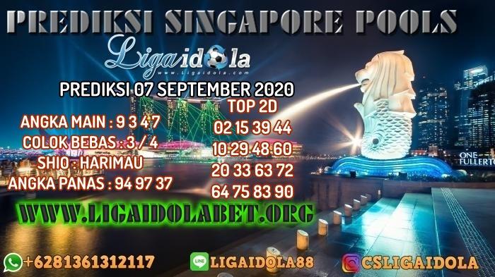 PREDIKSI SINGAPORE POOLS 07 SEPTEMBER 2020
