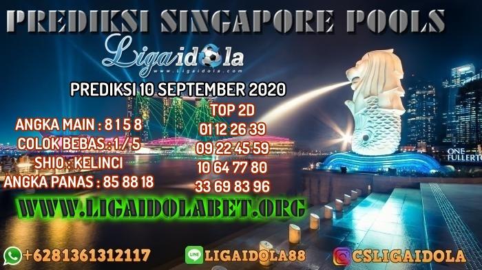 PREDIKSI SINGAPORE POOLS 10 SEPTEMBER 2020