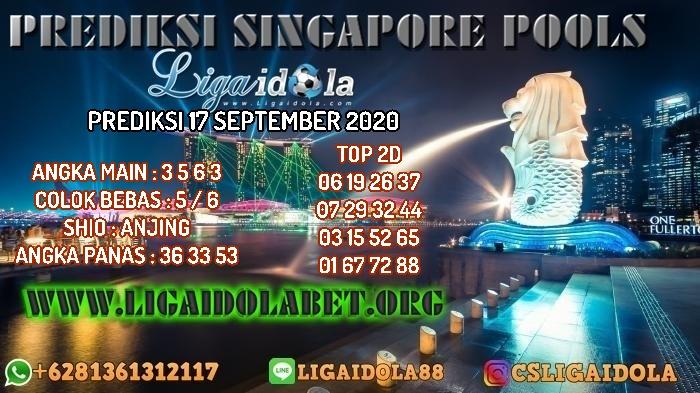 PREDIKSI SINGAPORE POOLS 17 SEPTEMBER 2020