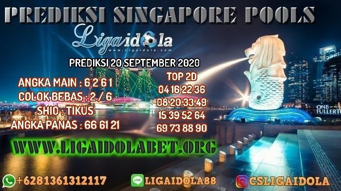 PREDIKSI SINGAPORE POOLS 20 SEPTEMBER 2020