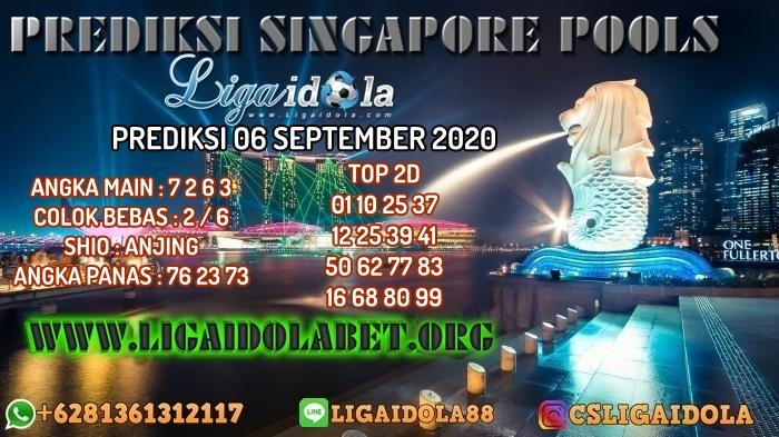 PREDIKSI SINGAPORE POOLS 06 SEPTEMBER 2020