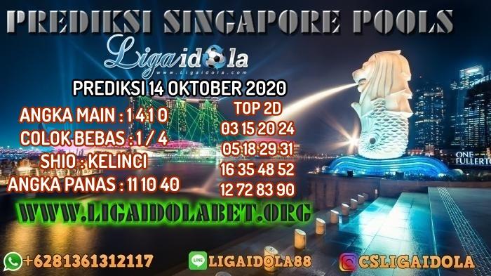 PREDIKSI SINGAPORE POOLS 14 OKTOBER 2020