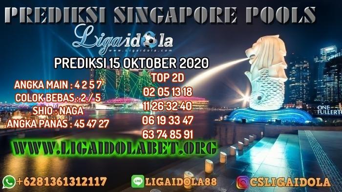PREDIKSI SINGAPORE POOLS 15 OKTOBER 2020