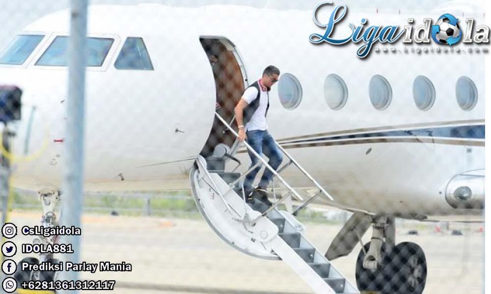 Ronaldo Kembali Ke Juventus Menggunakan Jet Pribadinya