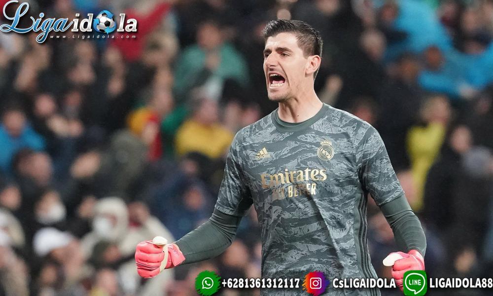 Thibaut Courtois Akui Real Madrid Memang Pantas Kalah