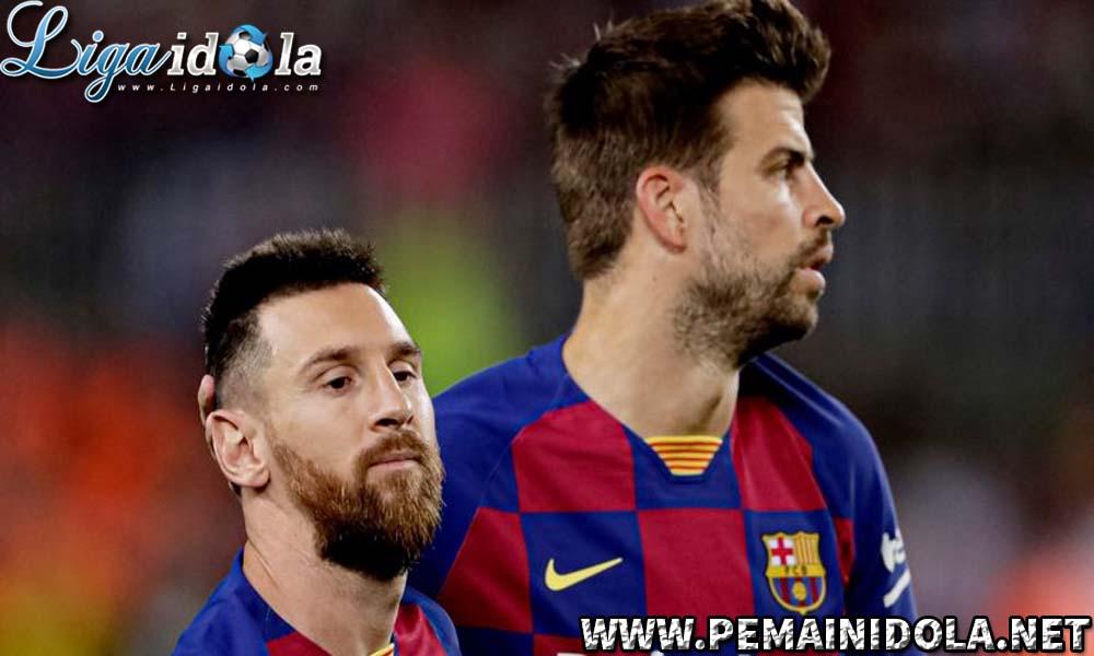 Pique Berkata Soal Barcelona Kalah dari Bayern dan