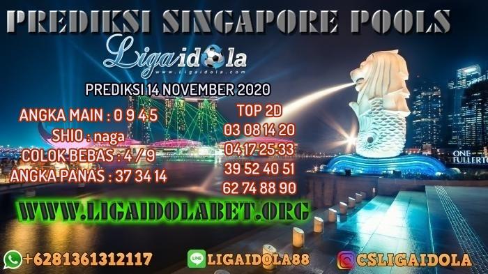 PREDIKSI SINGAPORE POOLS 14 NOVEMBER 2020