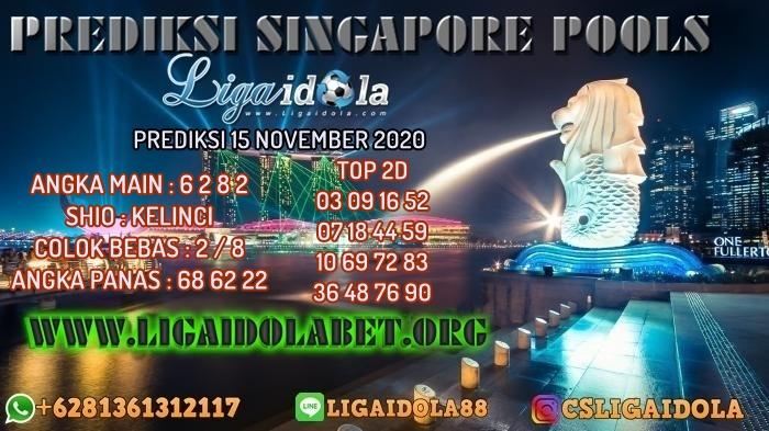 PREDIKSI SINGAPORE POOLS 15 NOVEMBER 2020