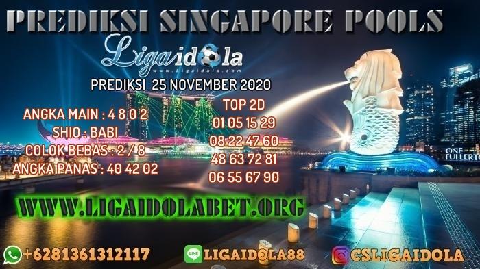 PREDIKSI SINGAPORE POOLS 25 NOVEMBER 2020