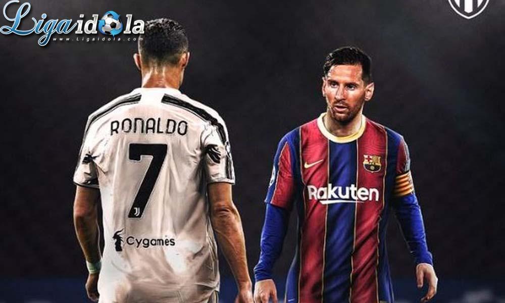 Cristiano Ronaldo ke MU Tergantung Pada Lionel Messi