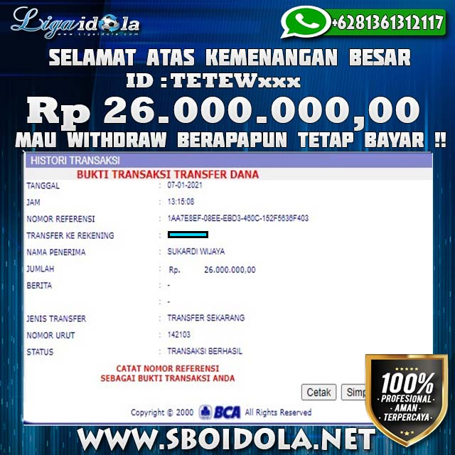 Jackpot Casino Dream Gaming Liga Idola