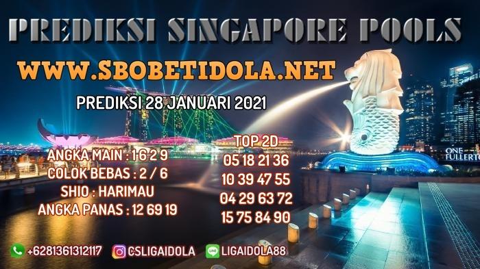 PREDIKSI TOGEL SINGAPORE 28 JANUARI 2021