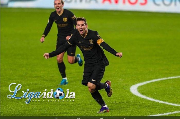 Lionel Messi Siap Menuju Laga final Piala Super Spanyol