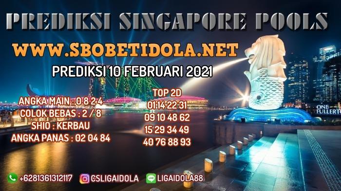 PREDIKSI TOGEL SINGAPORE 10 FEBRUARI 2021