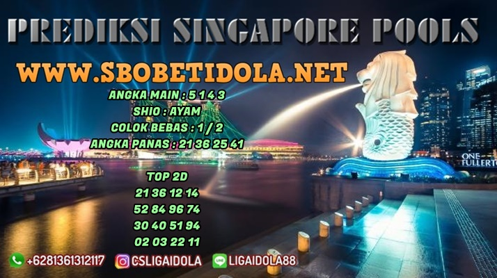 PREDIKSI TOGEL SINGAPORE 01 MEI 2021