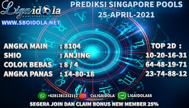 PREDIKSI TOGEL SINGAPORE 25 APRIL 2021