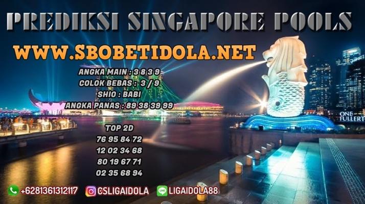 PREDIKSI TOGEL SINGAPORE 03 MEI 2021