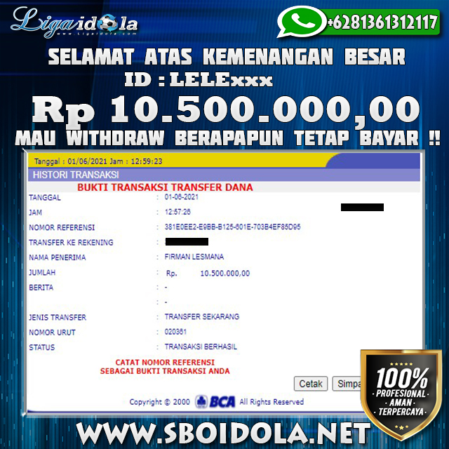 Deposit Receh WD Jutaan Main Slot