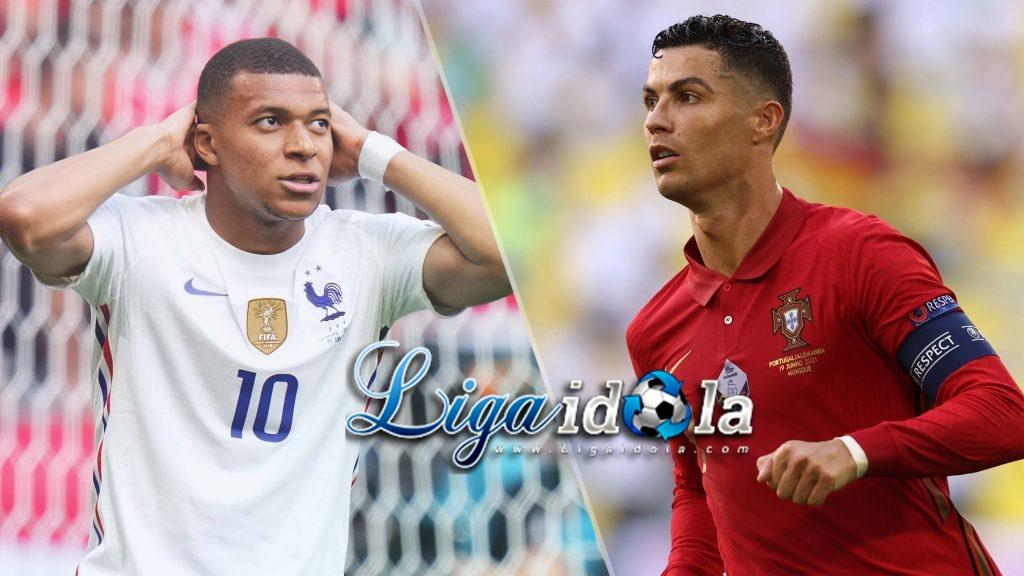 Cristiano Ronaldo Dilempar Botol di Laga Purtugal VS Prancis