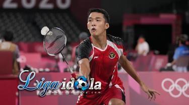 Jonatan Christie Gagal Lolos ke Perempat Final Tunggal Putra Olimpiade Tokyo 2020
