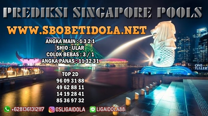 PREDIKSI SINGAPORE 12 JULI 2021