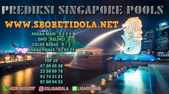 PREDIKSI SINGAPORE 17 JULI 2021