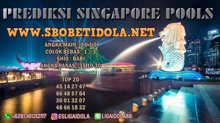 PREDIKSI SINGAPORE 22 JULI 2021